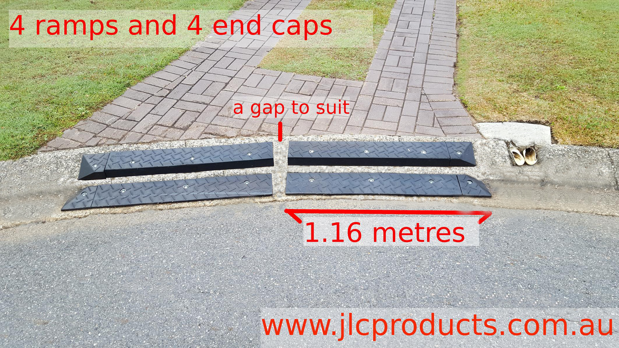 Layback Kerbs – JLC Ramps – for better compliance with
